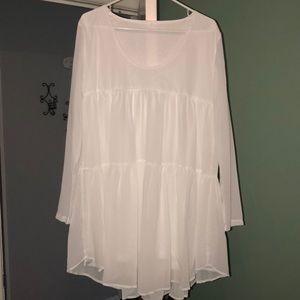 Babydoll White Dress